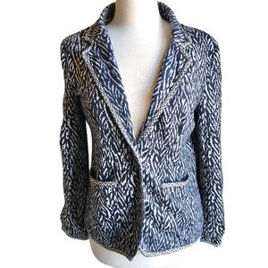 41 hawthorn stitch fix jersey knit navy blazer